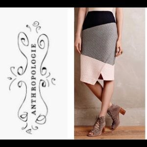 Anthropologie HD in Paris Knit Skirt size 14